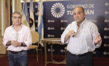 Manzur y Alfaro se reunieron para evaluar medidas contra el Coronavirus