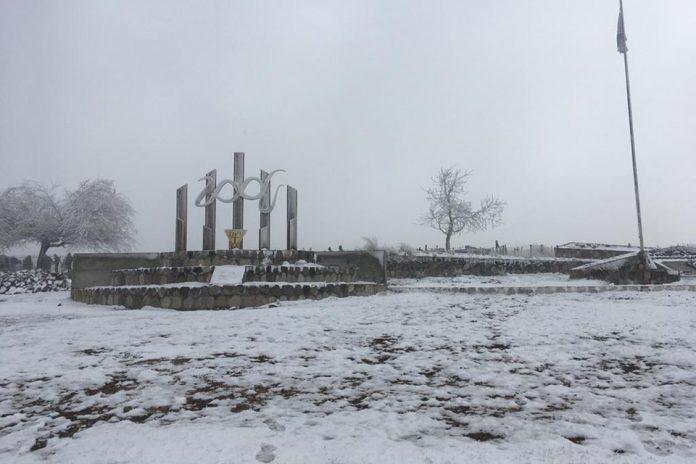 Se registró la primera nevada del año en los Valles tucumanos