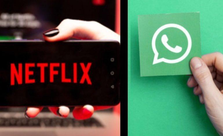 Ahora se podrá ver Netflix por WhatsApp