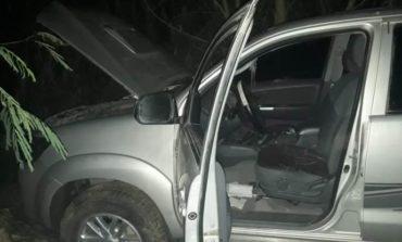 Encuentran una camioneta robada en El Naranjito