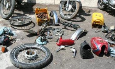 Identificaron talleres dedicados a desarmar vehículos robados