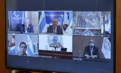 Jaldo asumió la presidencia el Parlamento del NOA