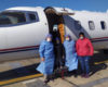 Avión Sanitario: Trasladan a un niño de cuatro años