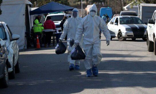 Argentina ingresó al top 10 mundial de muertes diarias por coronavirus