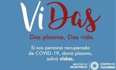 """Covid-19: Crean un grupo en las redes de """"donación de plasma en Tucumán"""""""