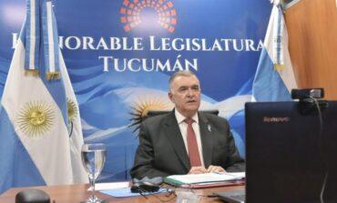 """Jaldo: """"los aumentos de la luz y el agua serán debatidos en la Legislatura"""""""