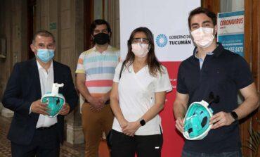 En Tucumán se usa una máscara innovadora con método no invasivo
