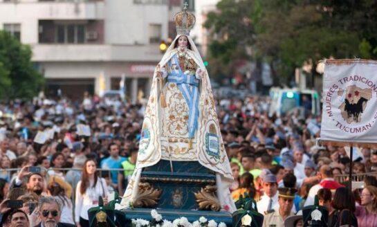 El Día de la Virgen de la Merced se celebra de manera virtual