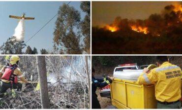 Cuánto dinero destinó la provincia para sofocar los incendios forestales