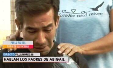 """Caso Abigail: """"No tenían móviles para buscarla y estaban cansados"""""""