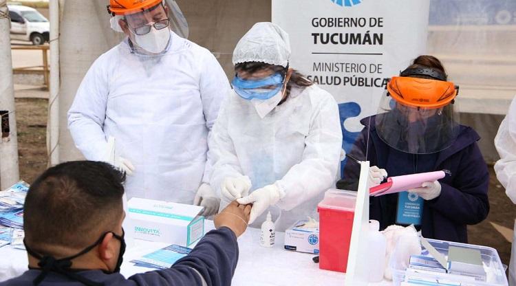 Tucumán suma 13 casos de personas reinfectadas