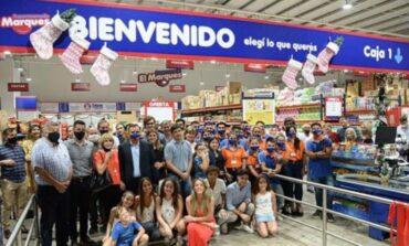 Inauguró un nuevo supermercado que dará trabajo a familias tucumanas