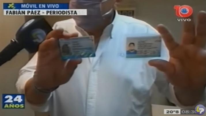Detectaron la circulación de licencias de conducir falsificadas
