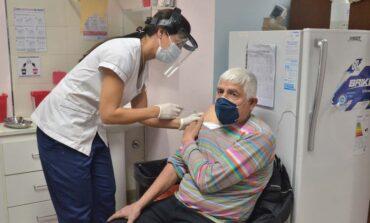 Se amplió a toda la provincia la vacunación para mayores de 70 años