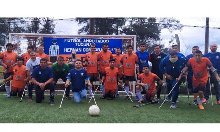 La liga nacional de fútbol para discapacitados cuenta con dos equipos tucumanos