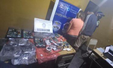 Vendían repuestos robados por Facebook y fueron detenidos