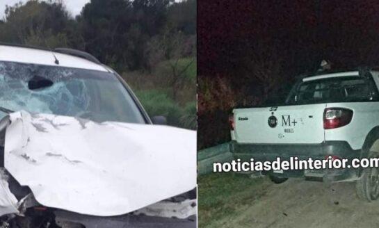 Accidente fatal en Simoca: mueren un padre y su hijo