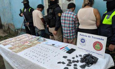 Desbarataron una banda familiar que vendía drogas en el sur de la capital