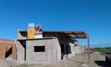 Simoca: avanza la construcción de viviendas