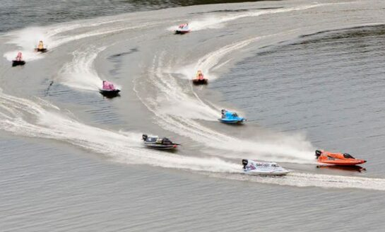 "La F1 Powerboat, la ""Fórmula Uno del agua"", genera expectativa en El Cadillal"