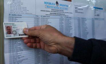 Ya se puede consultar el padrón electoral para las PASO 2021