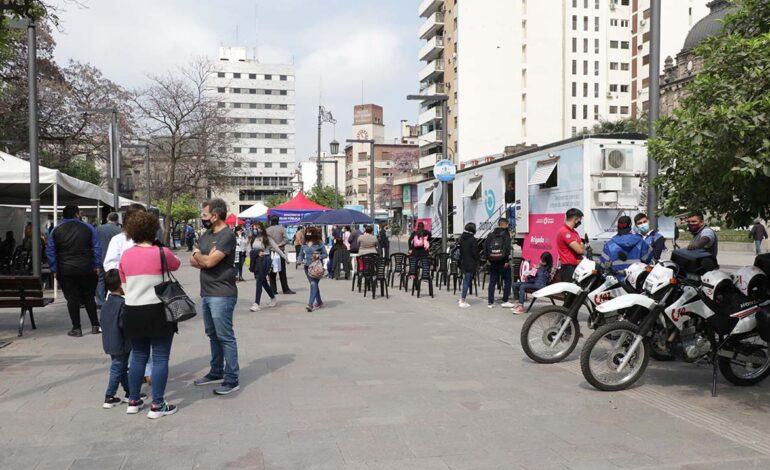 Salud lanza un Mega Operativo en plaza Independencia