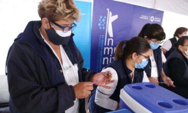 Los nodos de vacunación de la provincia no abren hoy por el Día de la Sanidad