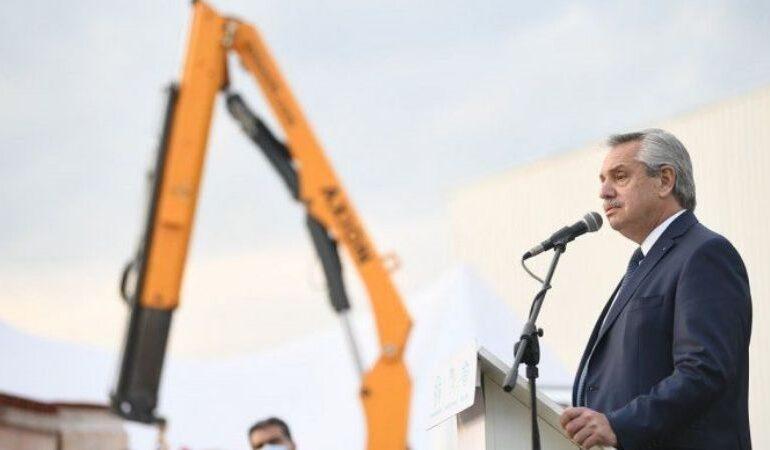 El Presidente pone en marcha 25 obras en 15 provincias de forma simultánea