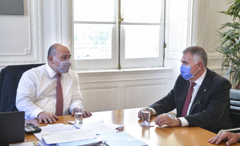 Manzur y Jaldo tuvieron una extensa agenda de trabajo en Casa Rosada