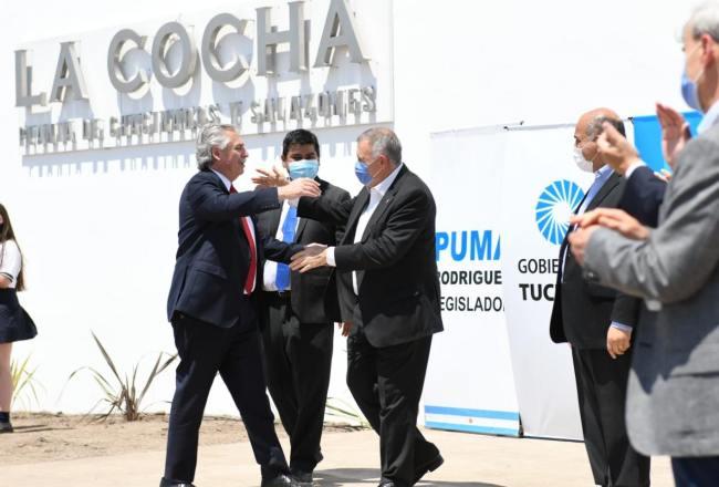 Jaldo agradeció el impulso del Presidente al desarrollo productivo tucumano