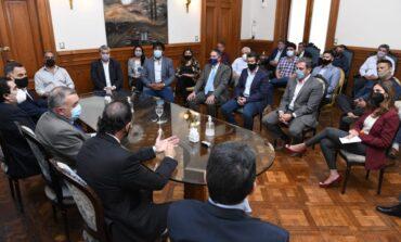 Dirigentes peronistas de la Capital manifestaron su apoyo a Jaldo